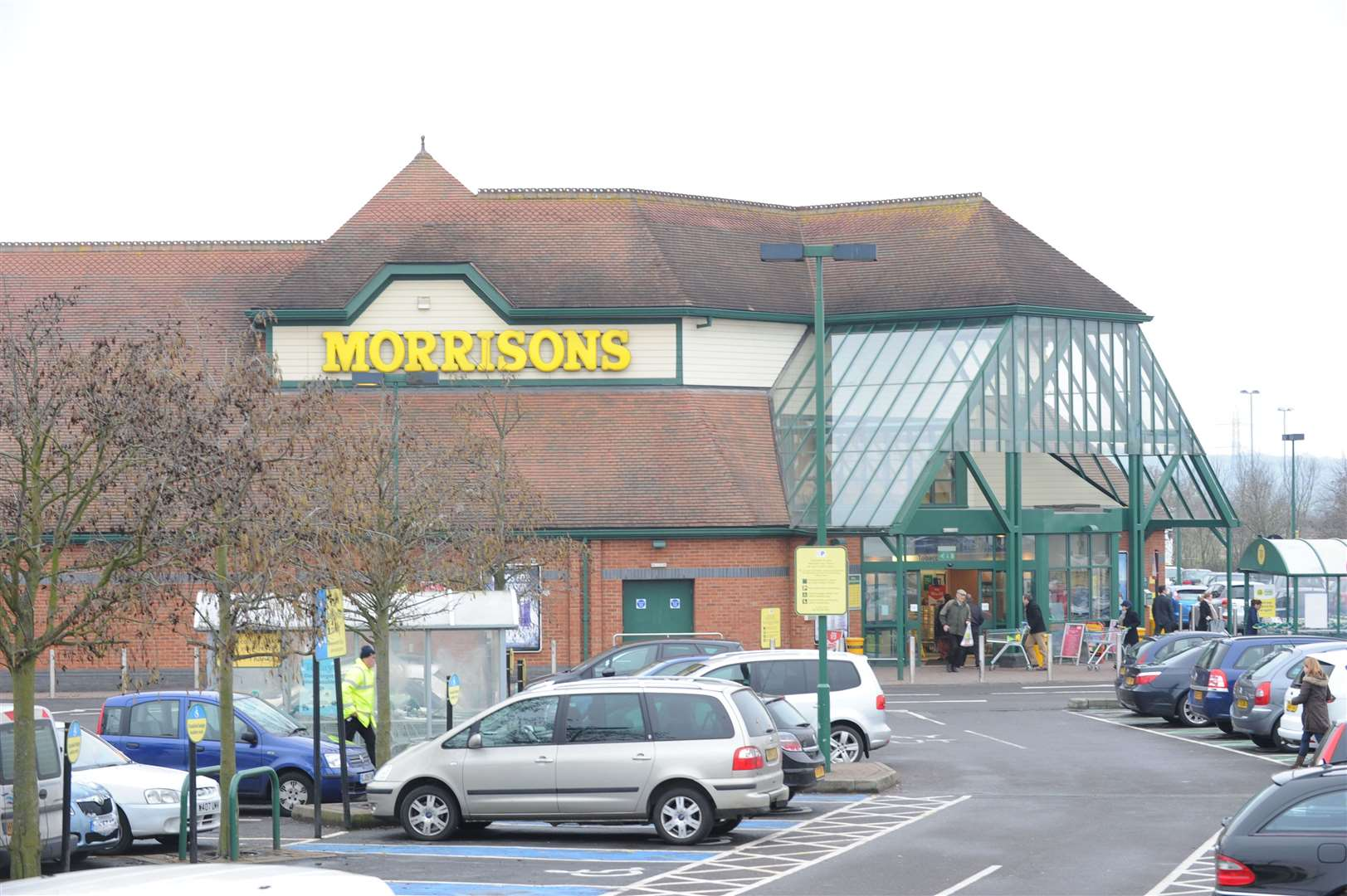 Morrisons in Coldharbour Road, Northfleet, is offering a three-course Christmas dinner for £7.50