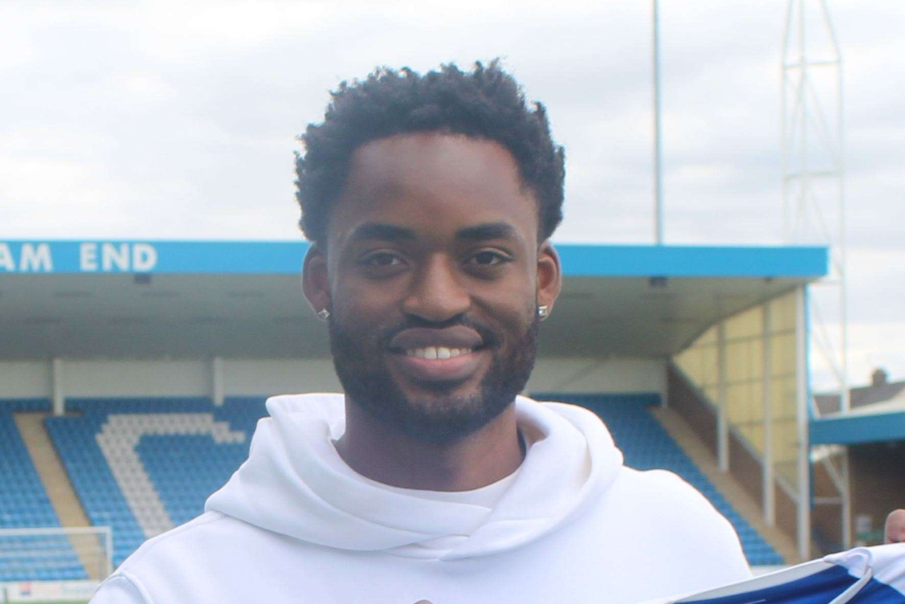 Christian Maghoma has tested negative for Covid-19 Picture: GFC