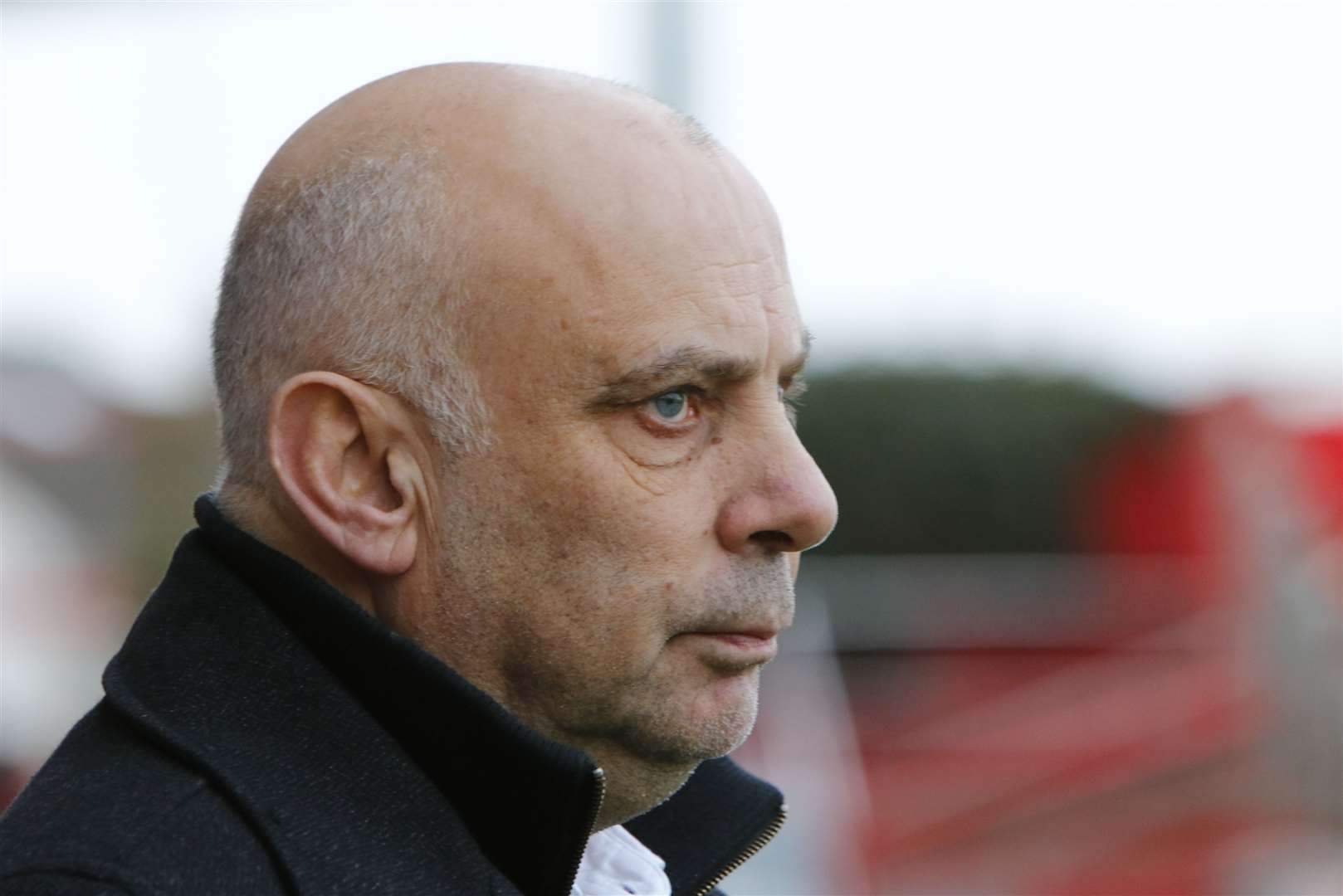 Ebbsfleet United manager Garry Hill Picture: Andy Jones