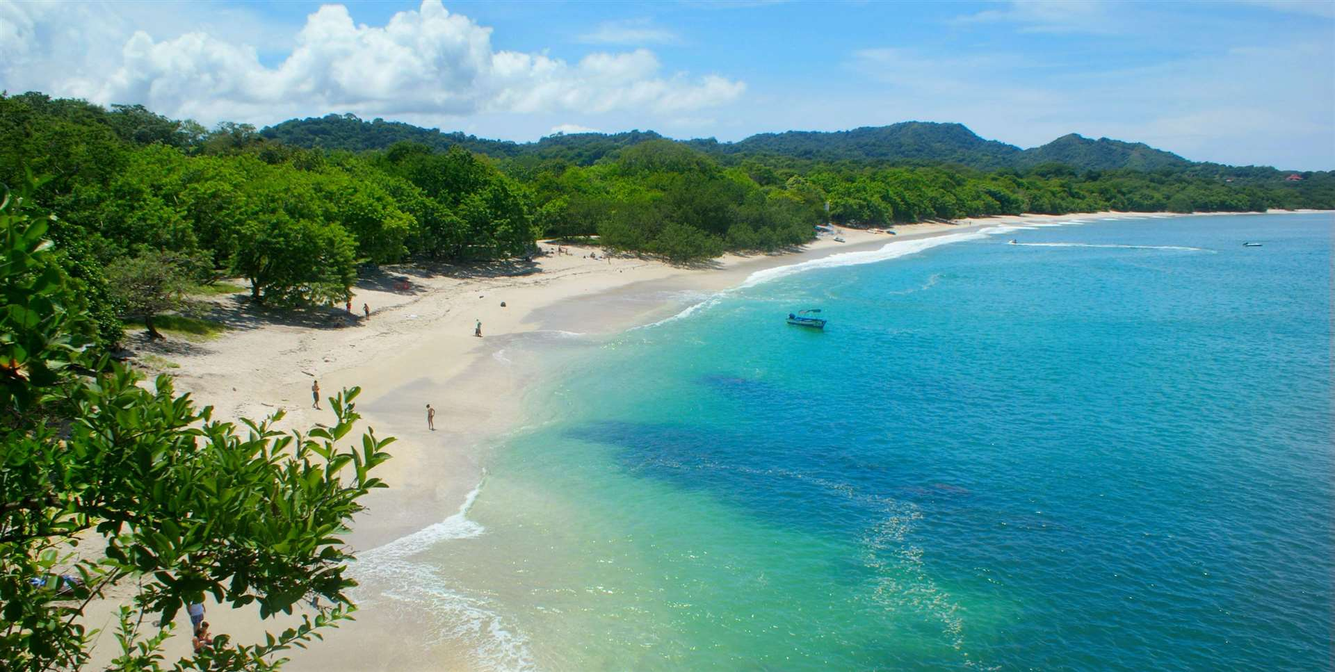 Conchal beach is one of the most beautiful beaches in Central America and the hottest destination spot in Costa Rica.