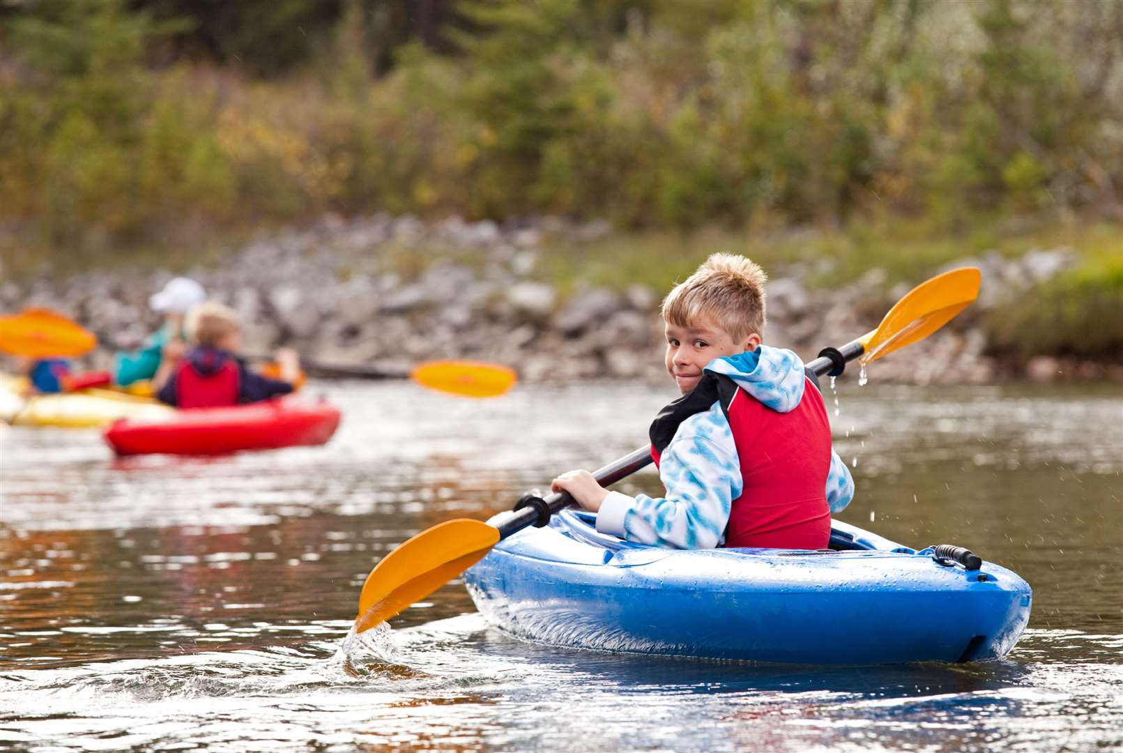 Try kayaking or canoeing to cool down