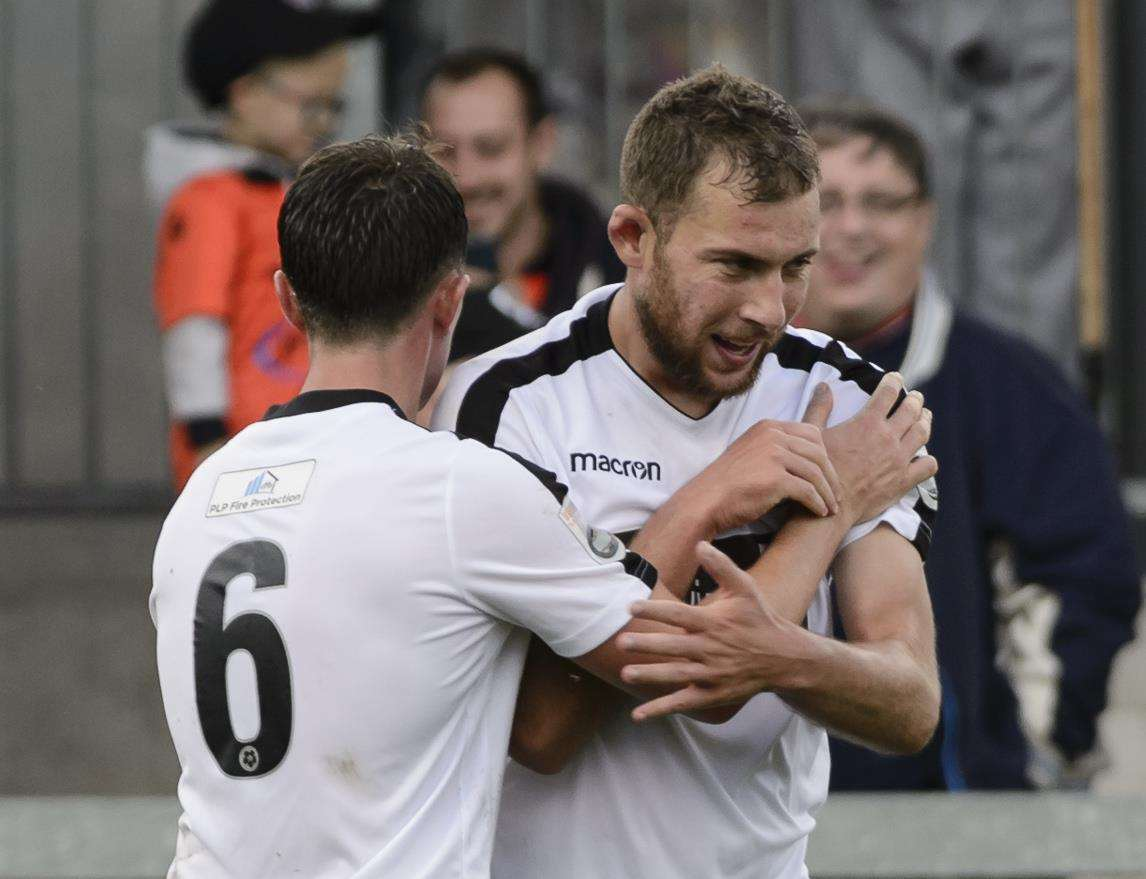 Ryan Hayes is back at Dartford Picture: Andy Payton