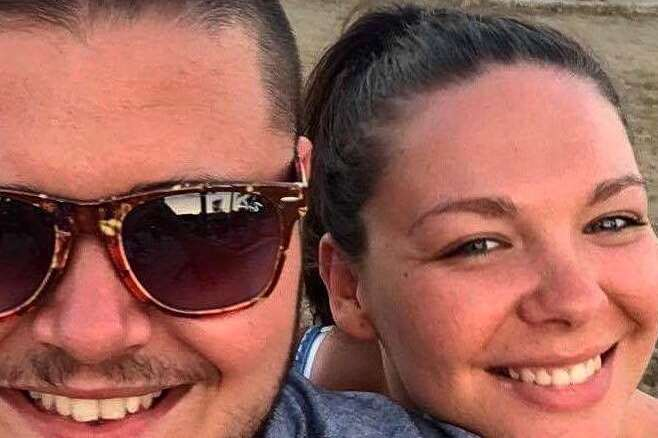 Sophie Wild and Harry Fitt on holiday in Turkey before the earthquake struck