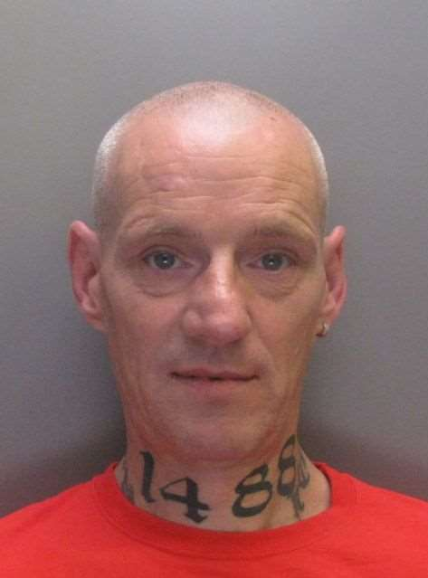 Gary Crane has been jailed for his part in the Dover riot on January 30, 2016