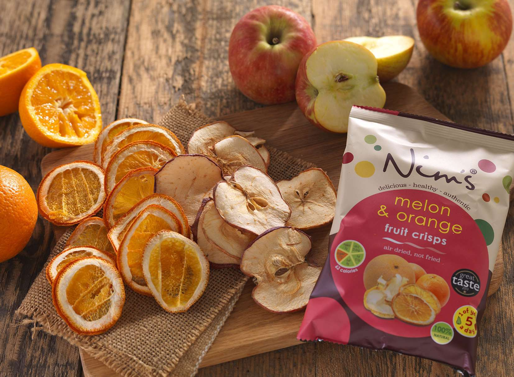 Nim's Fruit Crisps is based in Sittingbourne