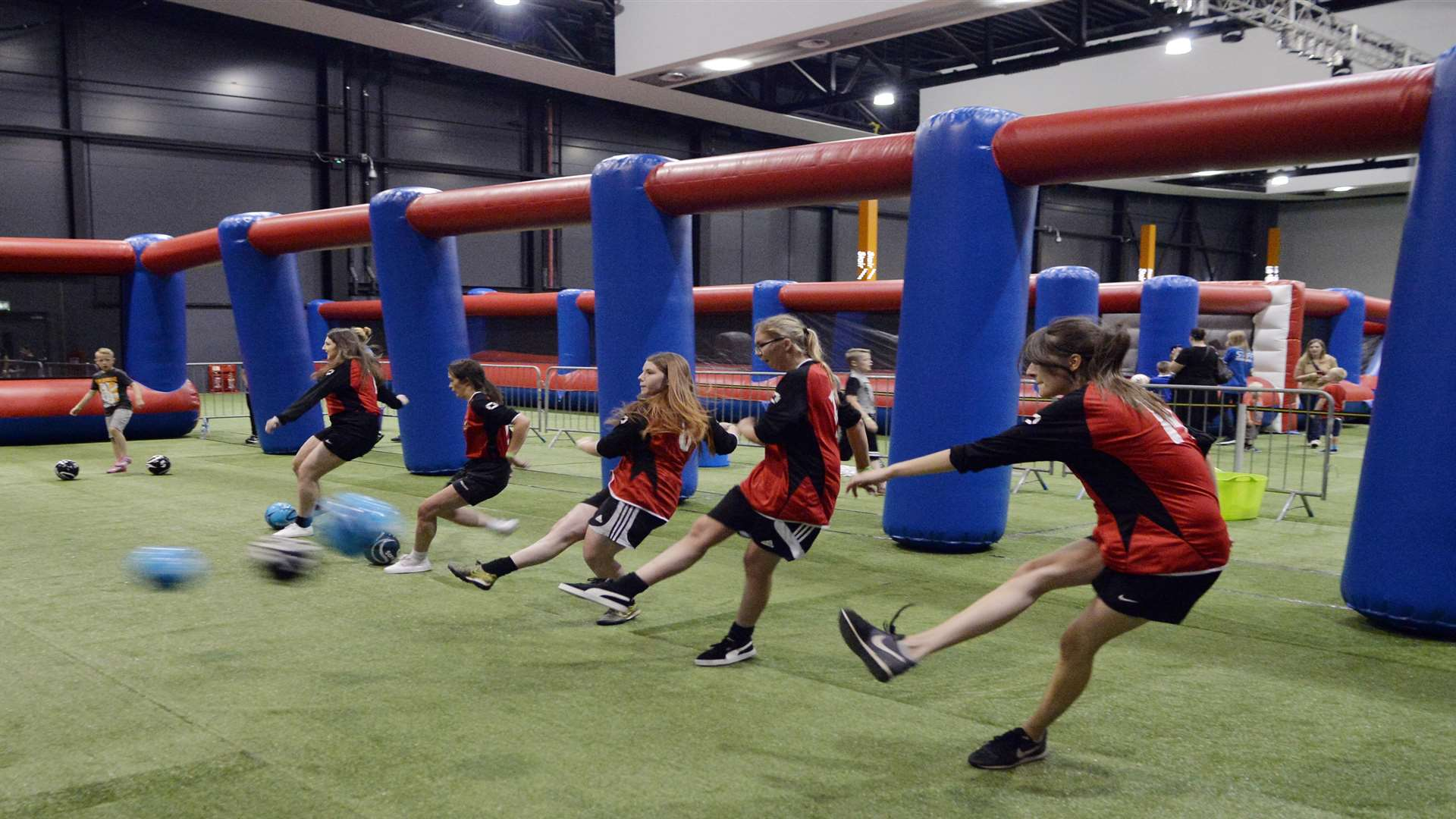 Bluewater's indoor football park