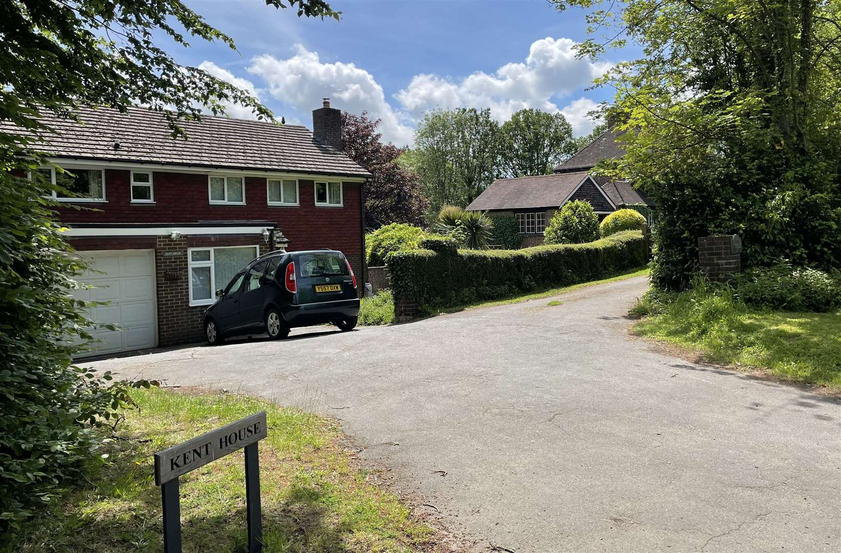 Two detached homes off the A28 will make way for the care home