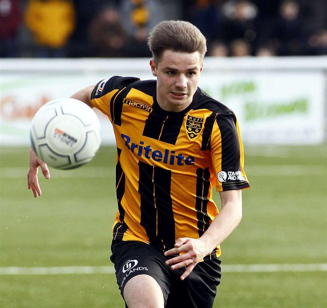 Jake Embery joined Margate from Maidstone Photo: Sean Aidan