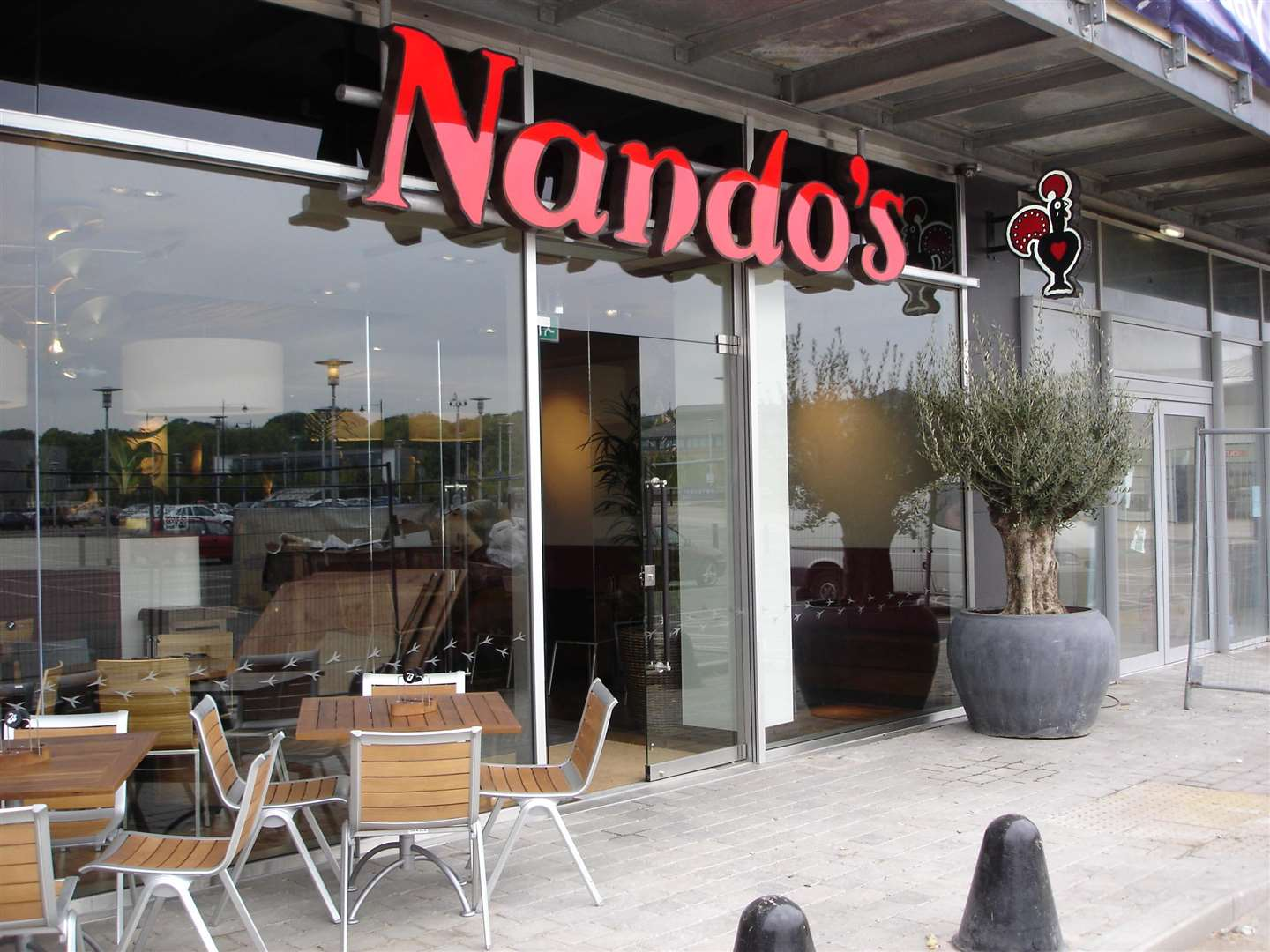 Nando's next to the old Dickens World site is due to expand