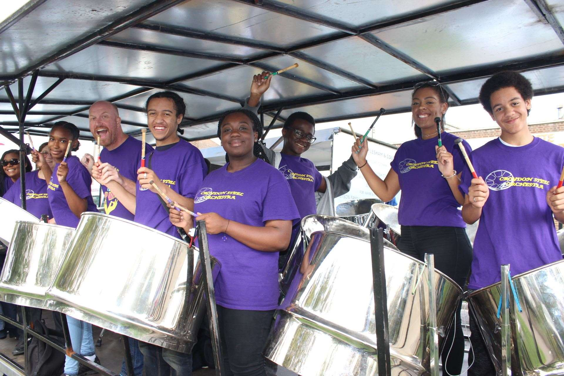 Croydon Steet Band from the Sheppey Carnival 2017 (15324254)