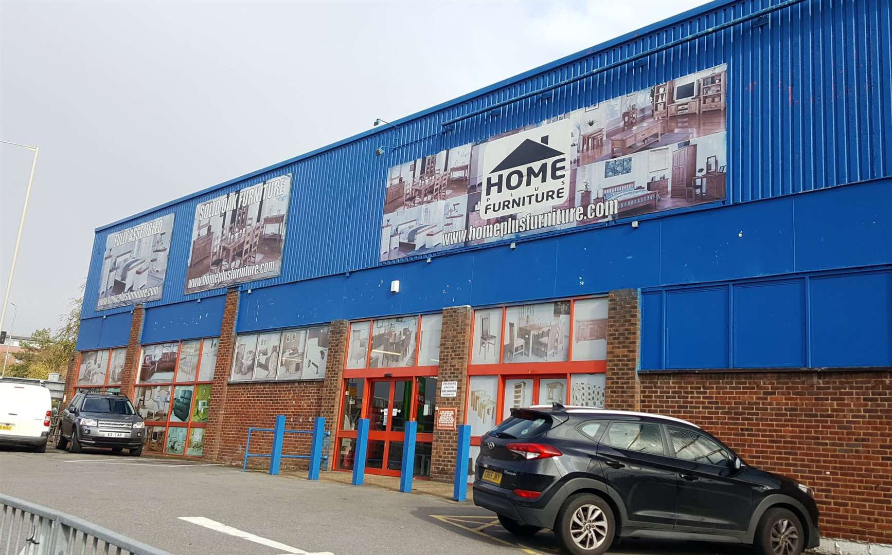 The HomePlus store will be demolished to make way for the scheme. Picture: Blur Studio Ltd