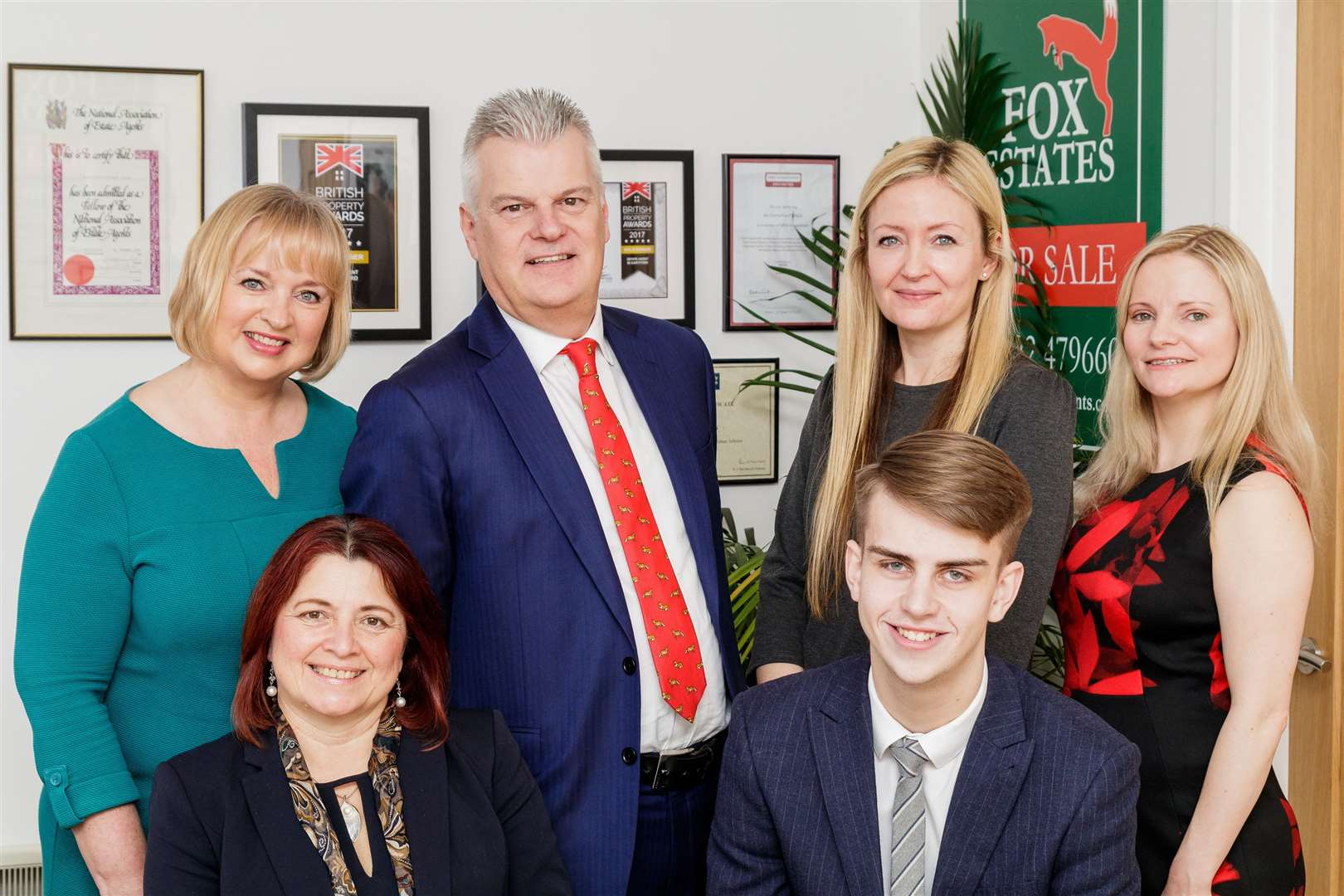 Fox Estate Agents, pictured in 2018 are a previous winner at the Dartford Business Awards