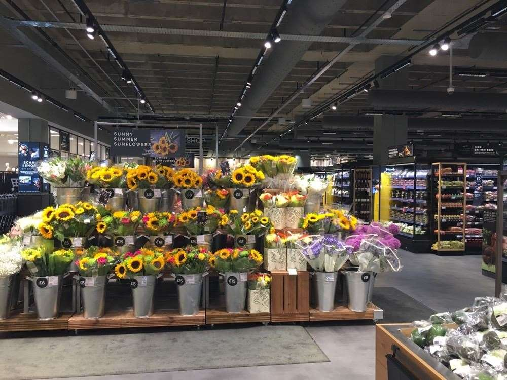 Floristry has been expanded in the redesigned Food Hall