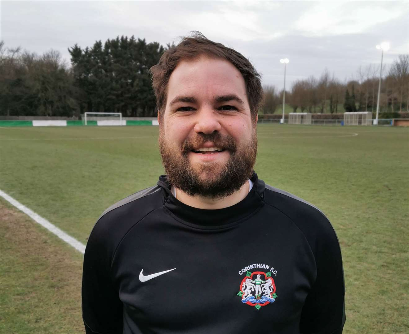 Michael Golding's Corinthian side were chasing the treble before the season was stopped