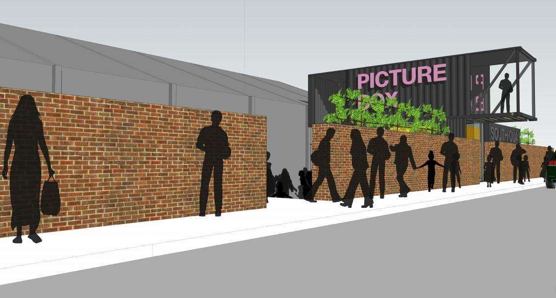 Designs showing how the cinema could look. Picture: MEME Architects LLP