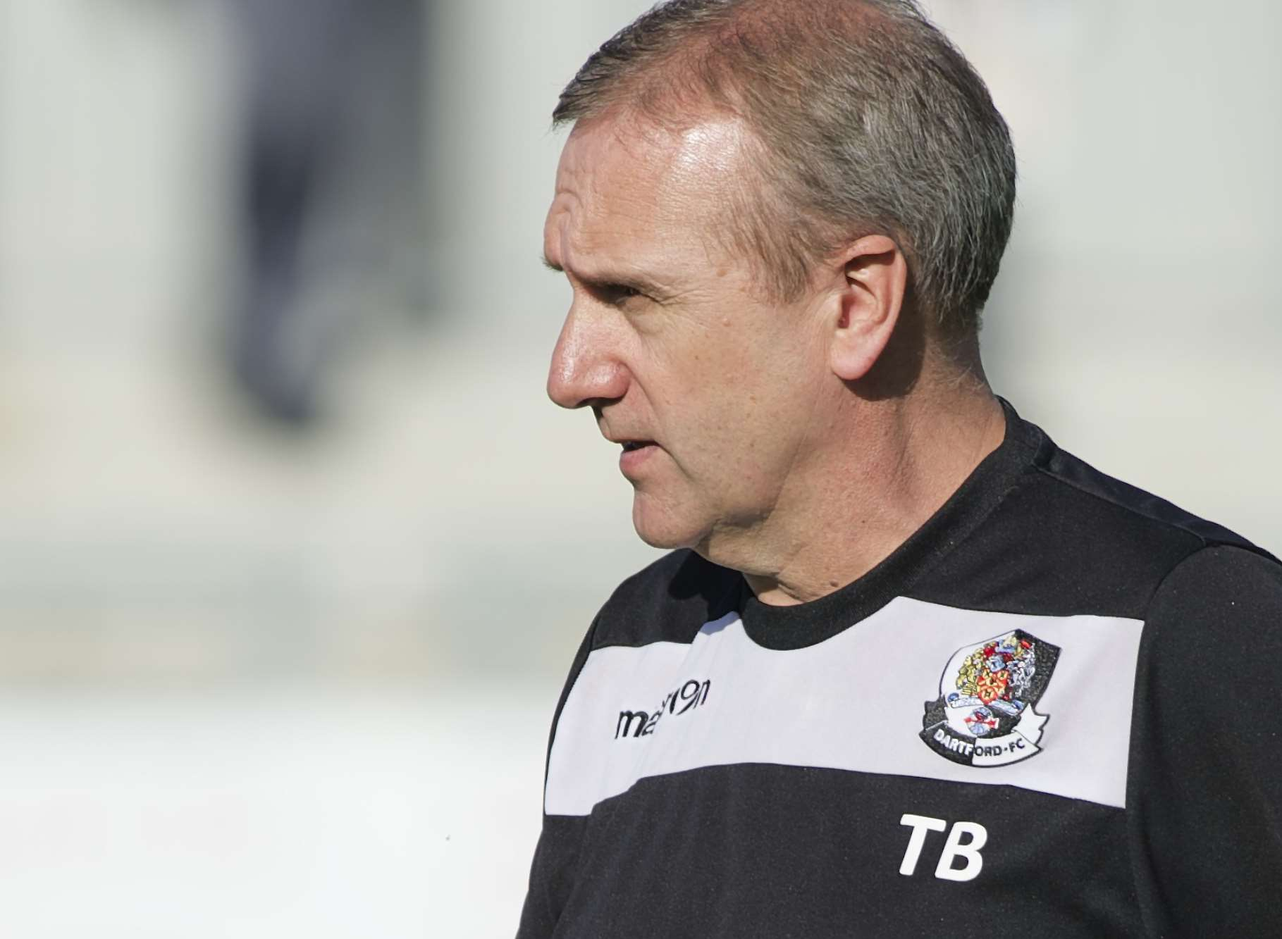 Dartford boss Tony Burman Picture: Andy Payton