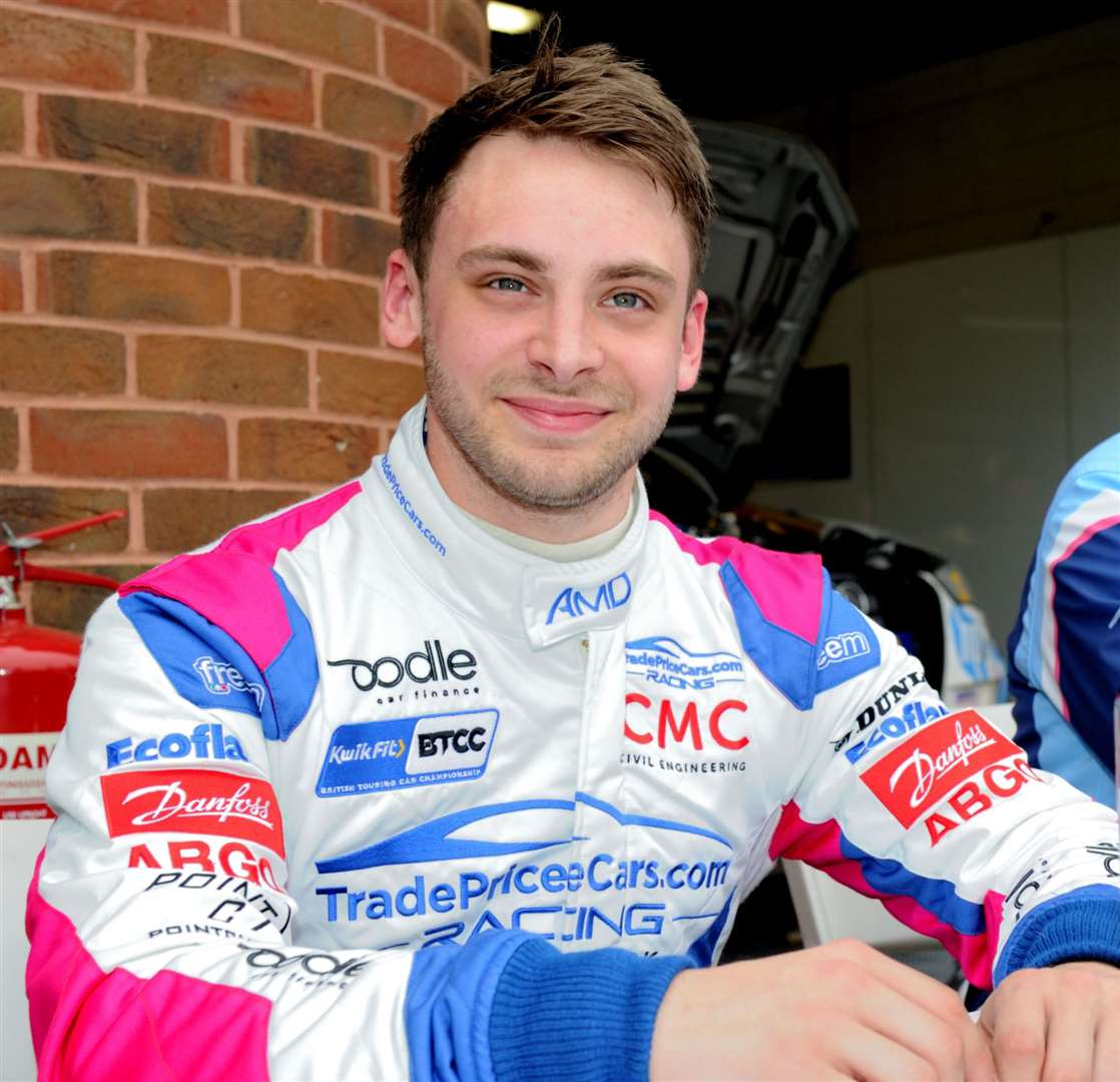 Goudhurst's Jake Hill has impressed in BTCC testing Picture: Simon Hildrew