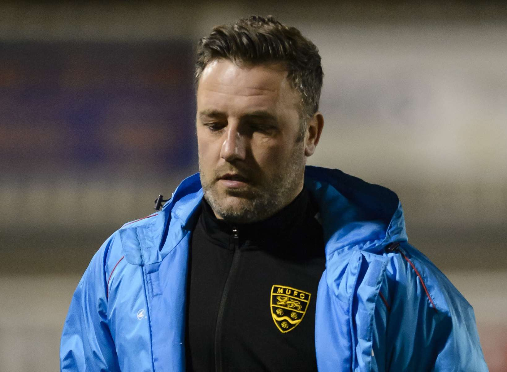 Maidstone manager Jay Saunders Picture: Andy Payton