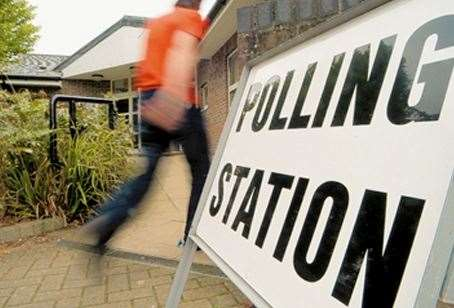People will be heading to their Polling Station today
