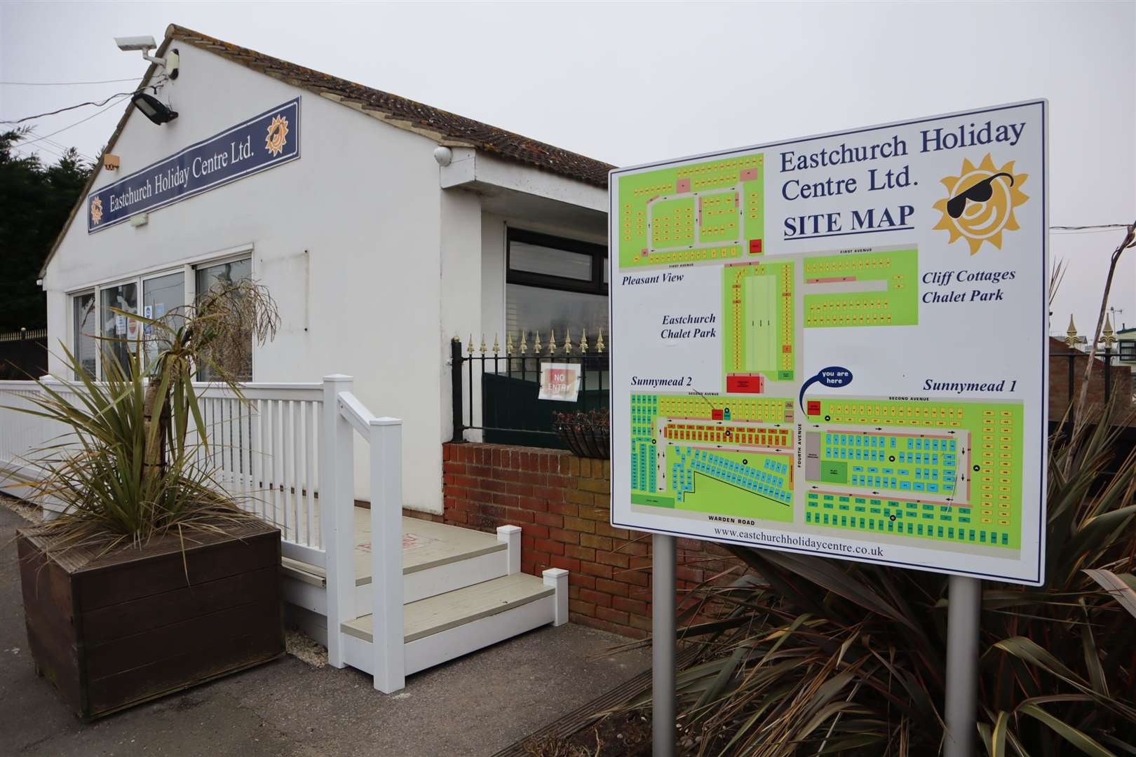 Eastchurch Holiday Centre on the Isle of Sheppey