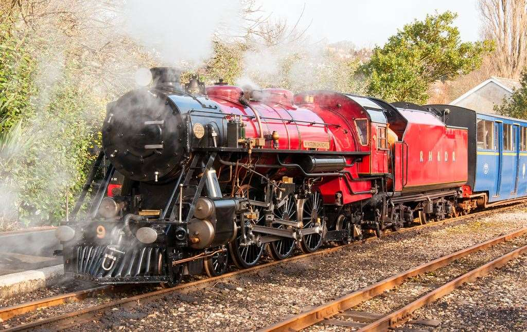 The Romney, Hythe and Dymchurch Railway will re-open next month