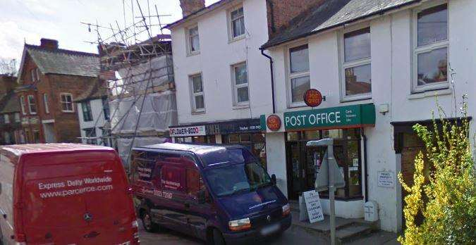 Staplehurst's High Street post office was targeted by robbers (6870488)