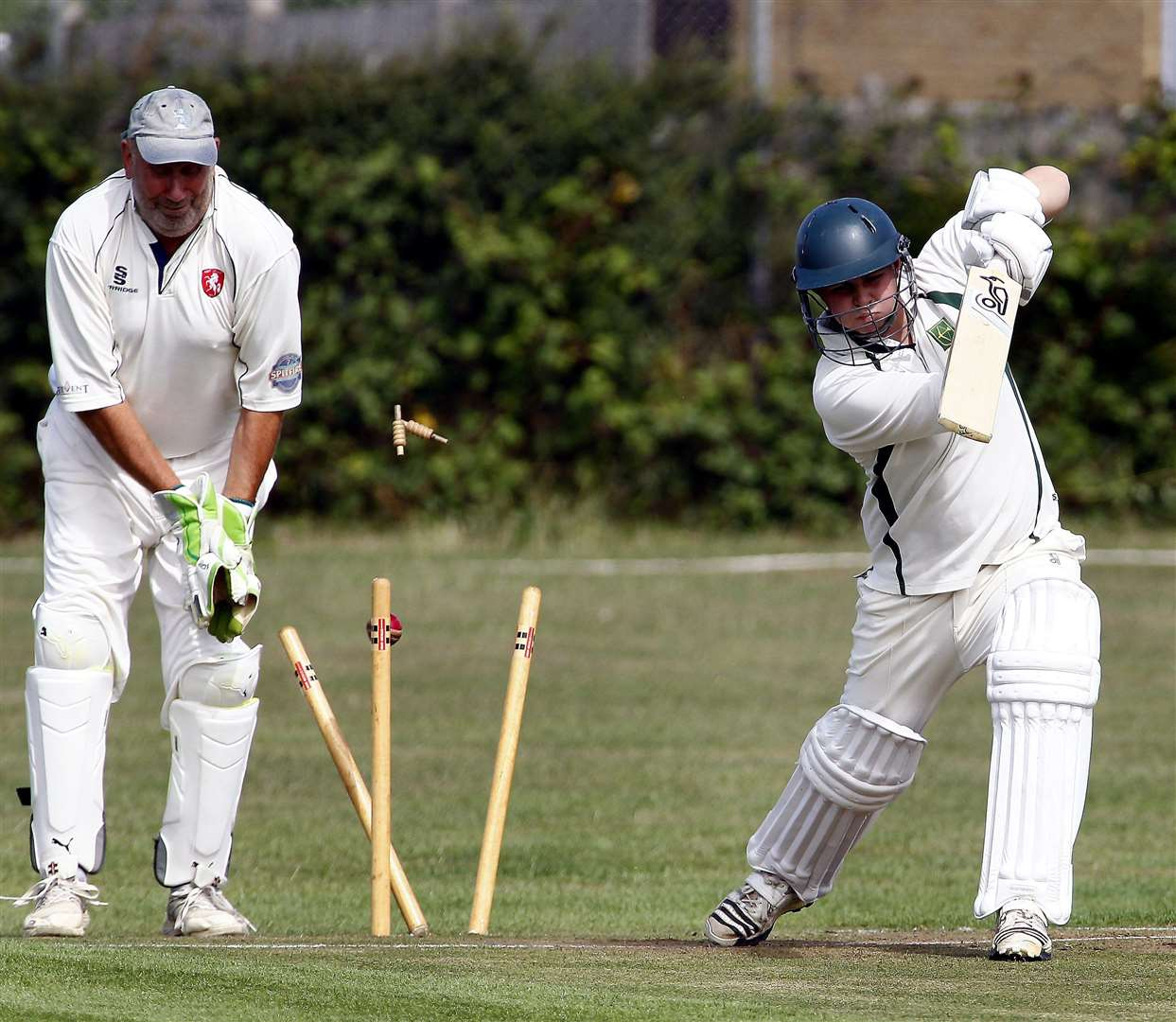 There is still no date for a return of recreational cricket Picture: Sean Aidan