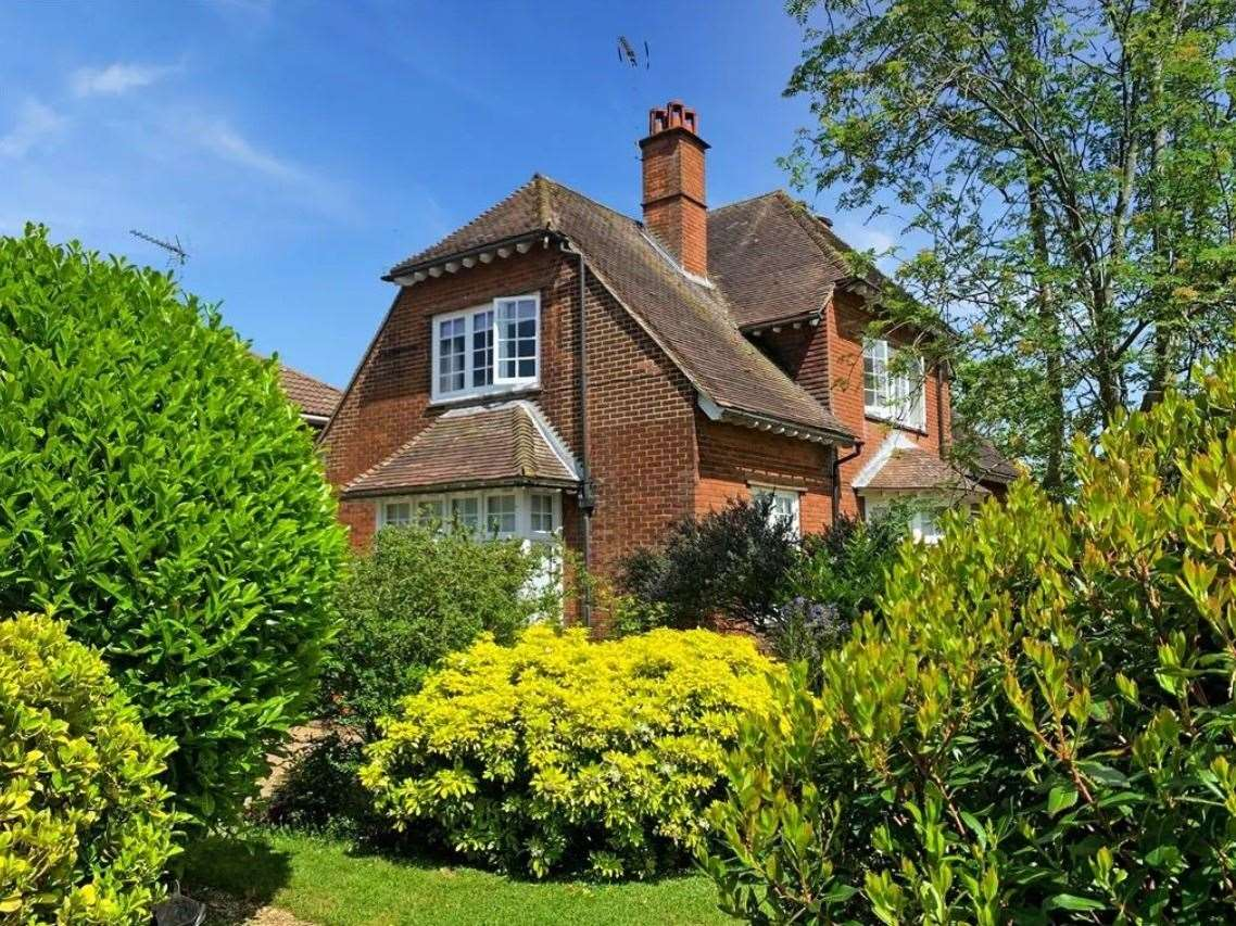 The four-bed detached house in Woodstock Road. Picture: Zoopla / Wards