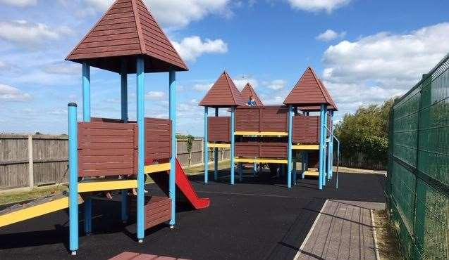 There are pirate-themed play areas both inside and outside at the Captain Digby