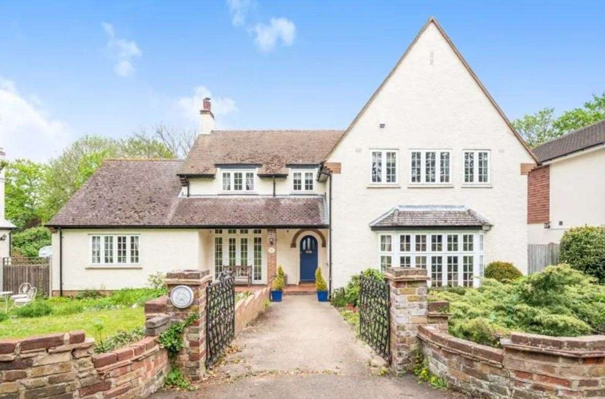 The five-bed detached house in Church Walk. Picture: Zoopla / Park Estates