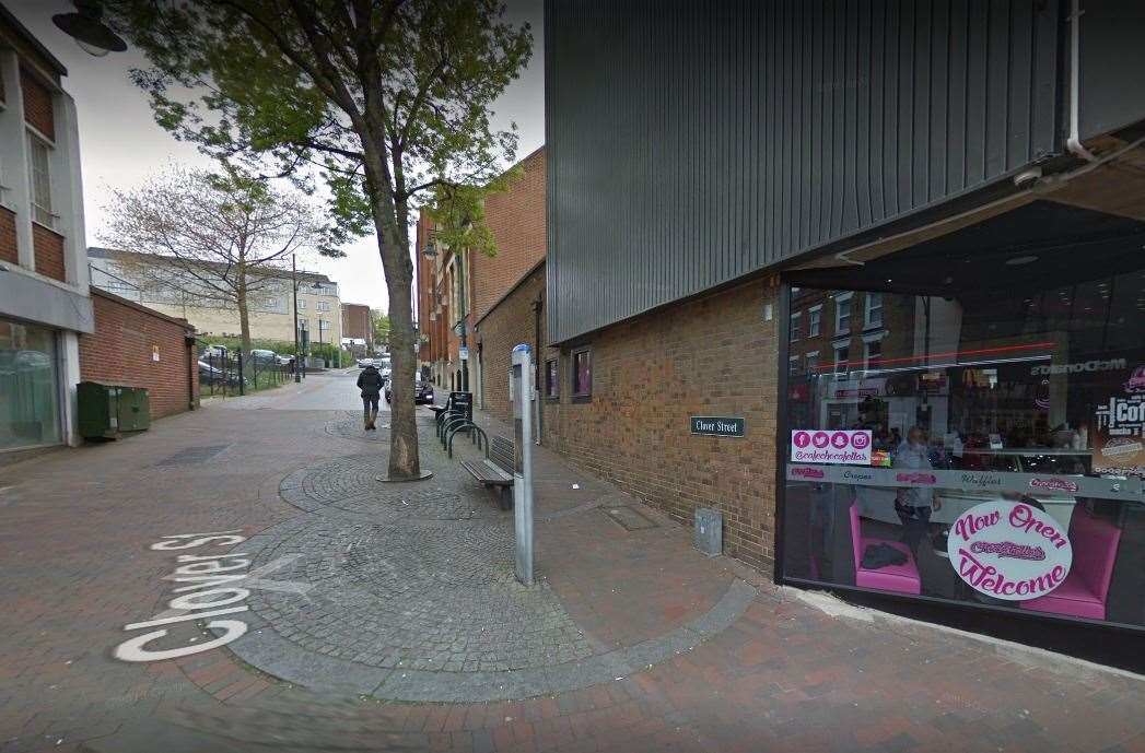 Pizza Fellas operates out of Chatham High Street. Photo: Google Images