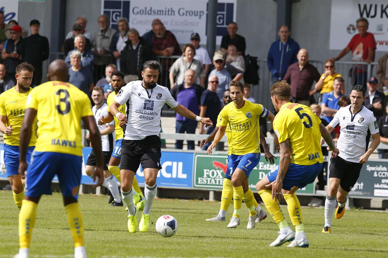 Dartford have yet to win in five attempts this season Picture: Andy Jones