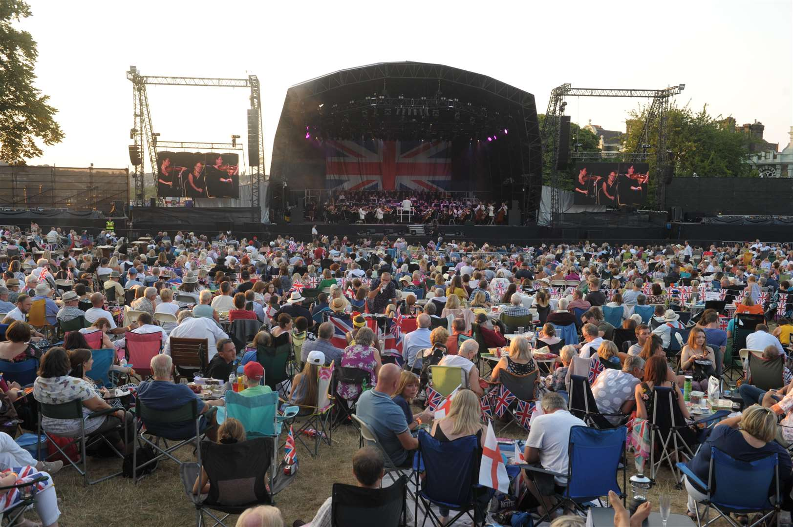 Rochester Castle Concerts lost more than £300k last year. Picture: Steve Crispe