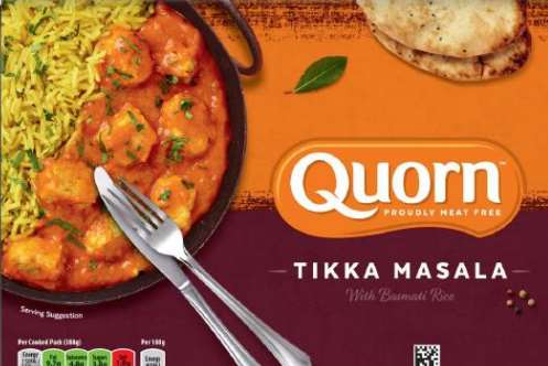 Quorn has said a batch of its Tikka Masala has been contaminated with pieces of rubber