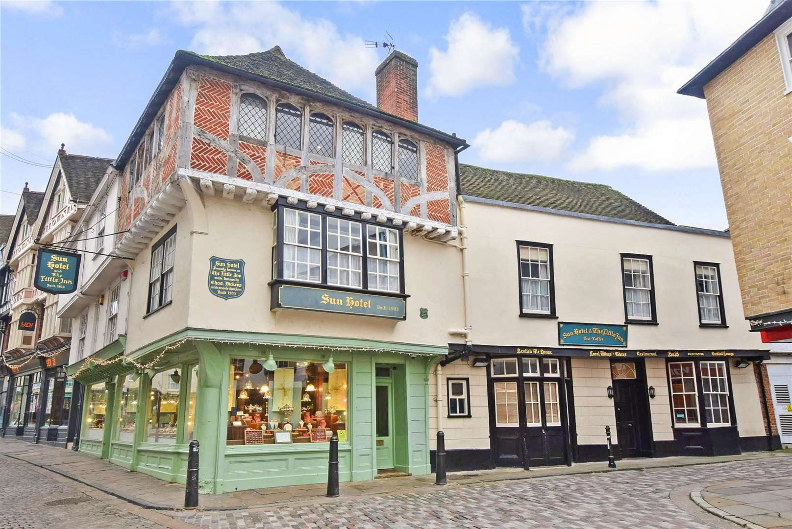 The Sun Hotel in Sun Street is on the market for £1.55m. Picture: Fine & Country. (14667115)