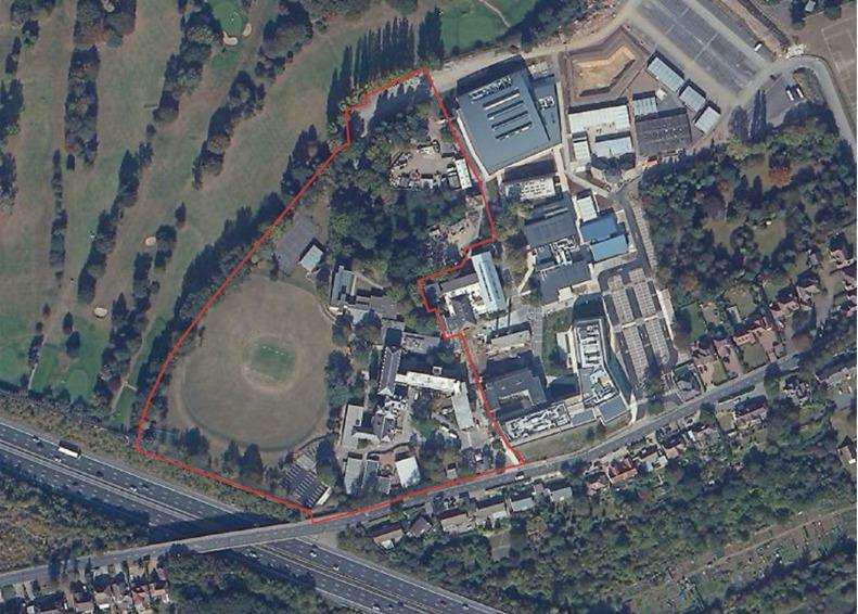 North Kent College is proposing to sell off green belt land to property developers