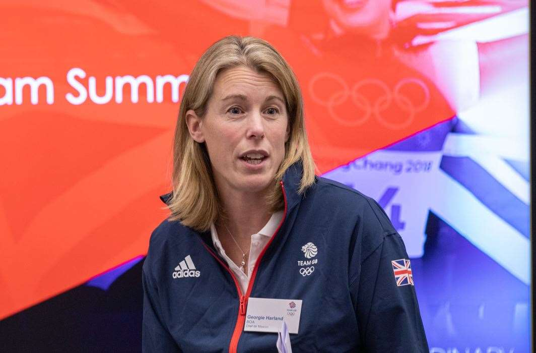 Georgina Harland, BOA Chef De Mission for the 2022 Winter Olympics Picture: TeamGB.com (35385341)