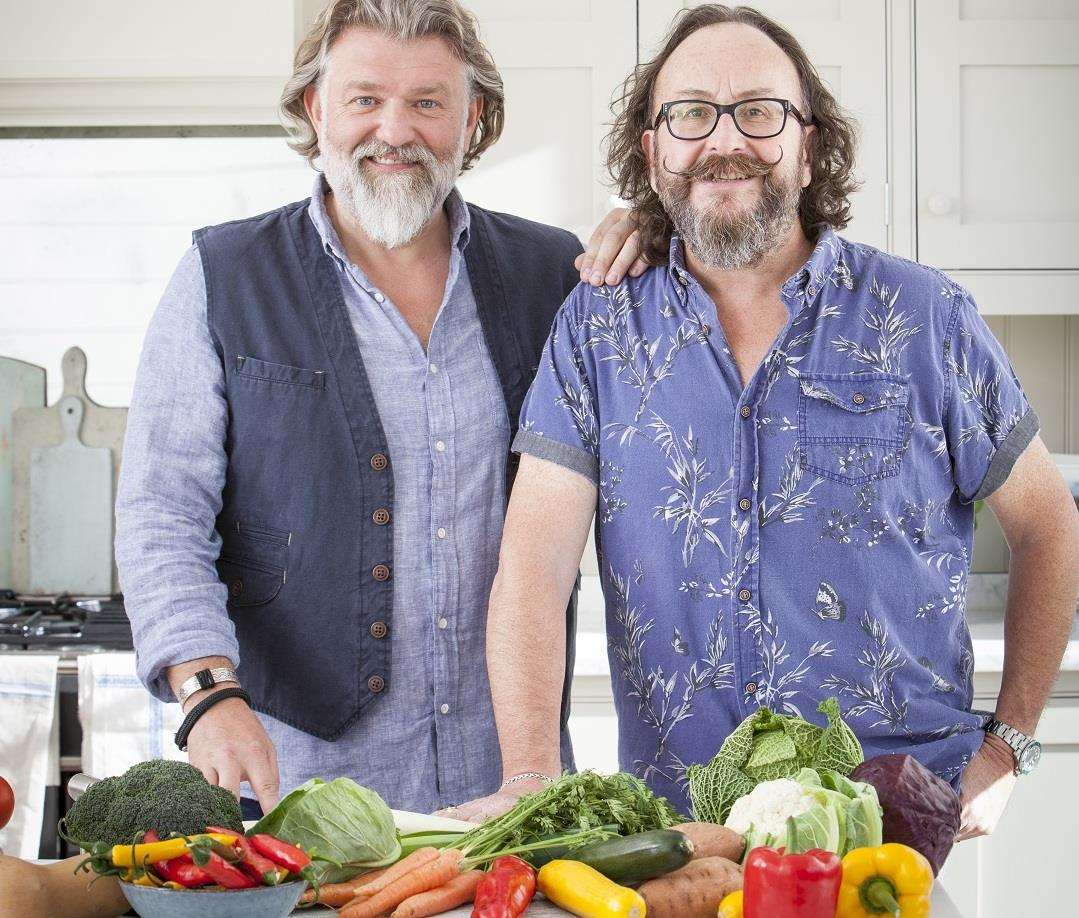 The Hairy Bikers will be in Dartford and then later Canterbury