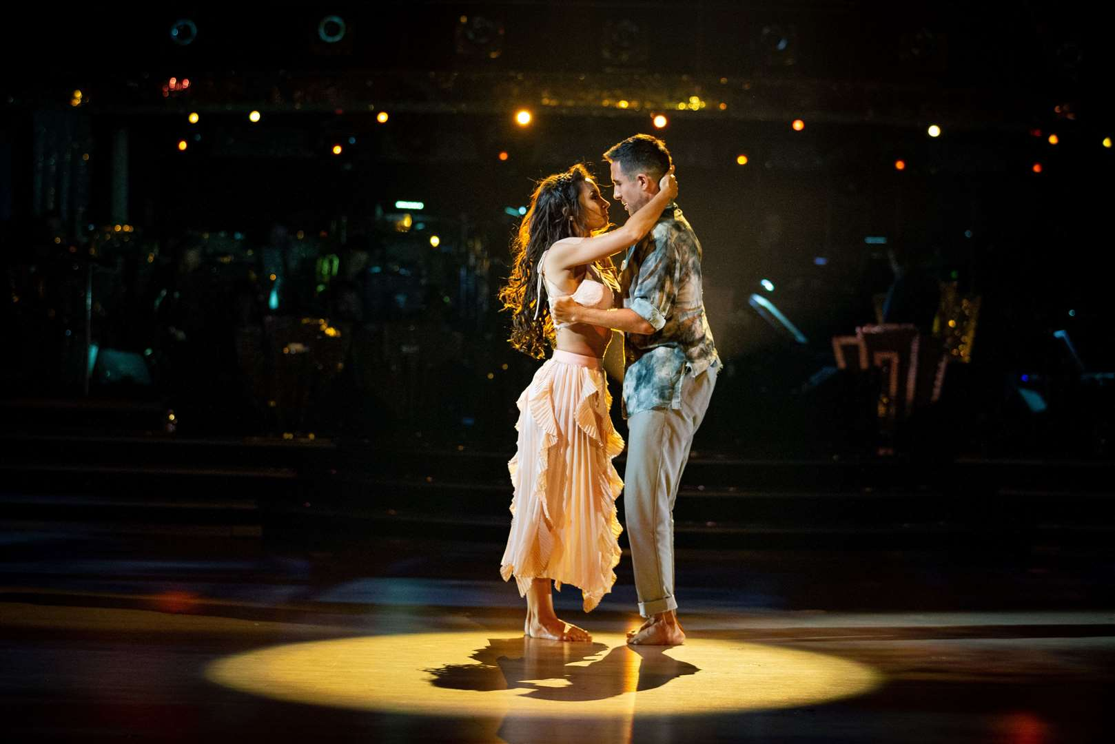 Strictly Come Dancing Janette Manrara, Will Bayley. Picture: BBC Photographer Guy Levy (19790879)