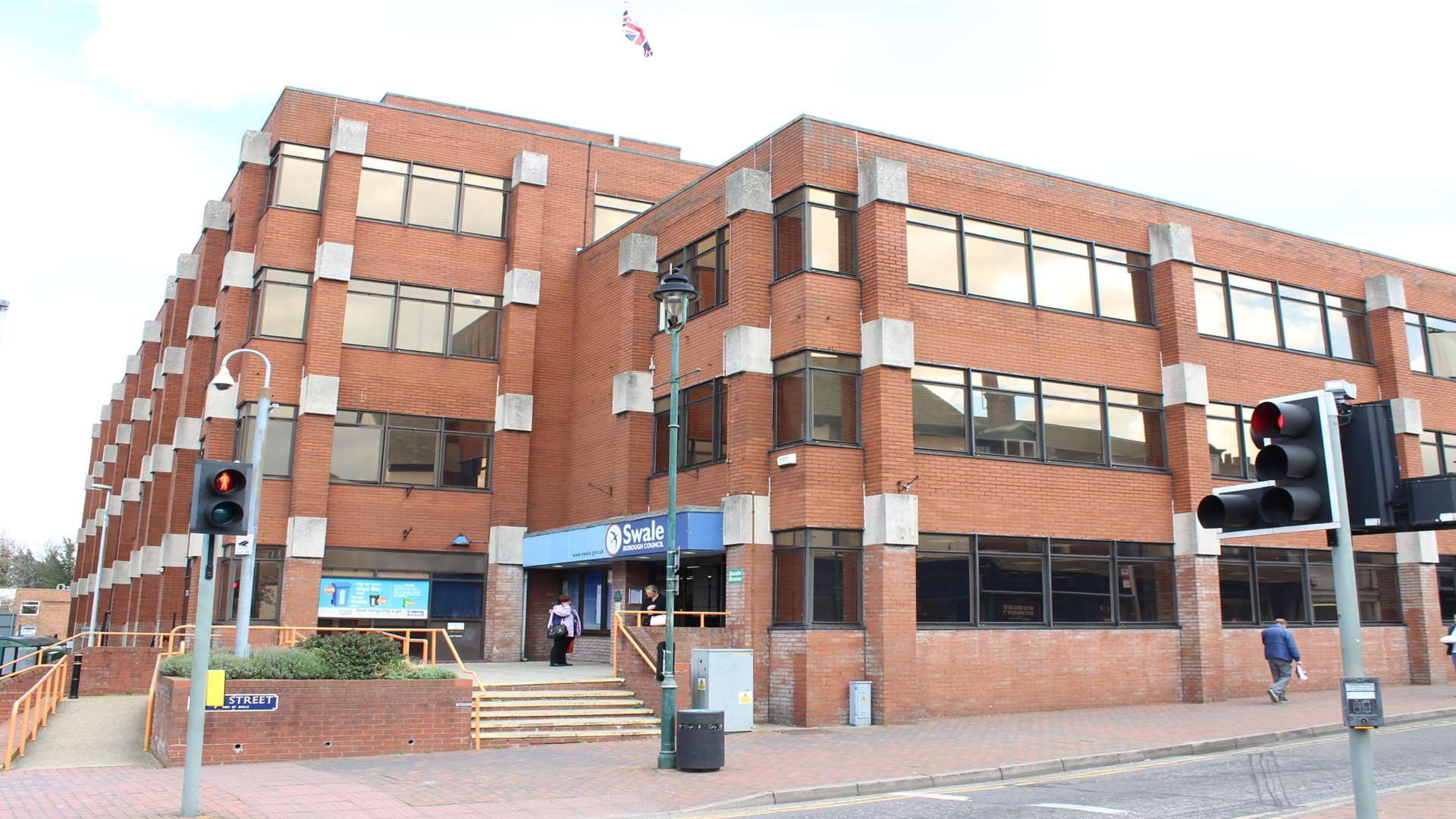 Swale House, headquarters of Swale Borough Council in East Street, Sittingbourne