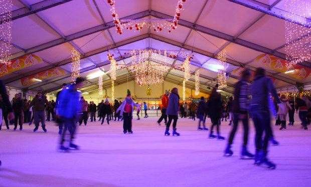 Canterbury even has a festive ice rink this year