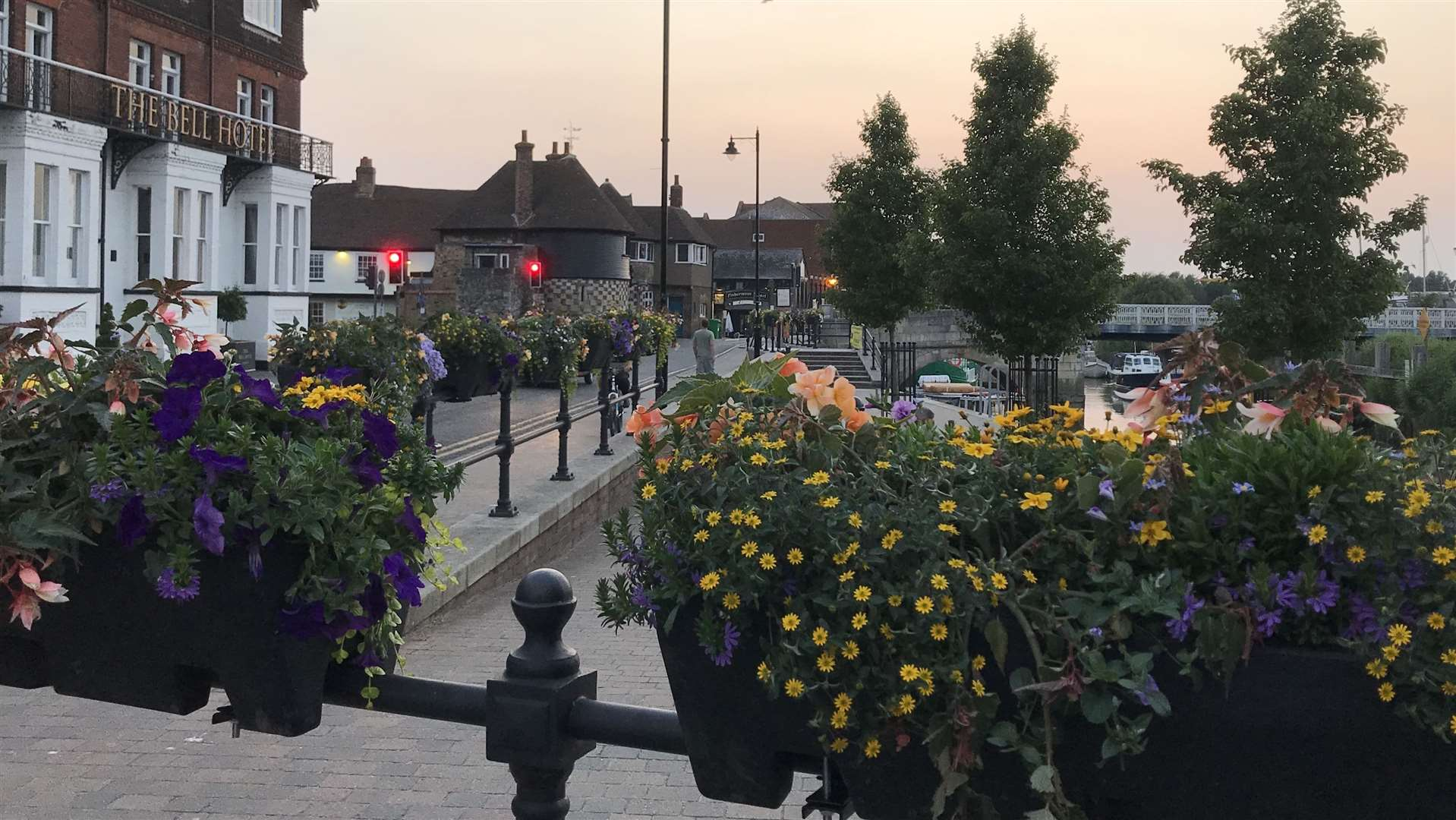 Sandwich in Bloom launched a three-year project to make the town more attractive ahead of The Open 2020