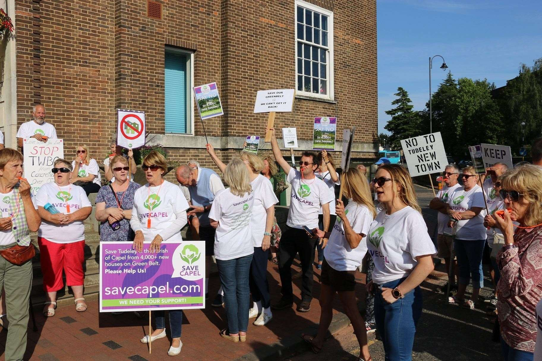 Save Capel demonstrators will not be deterred by the result of the meeting