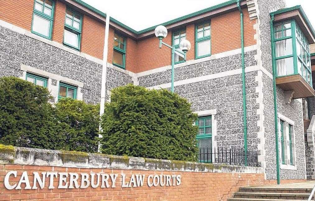 Aidan Broderick appeared at Canterbury Crown Court