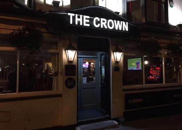 The Crown is in York Street, Ramsgate