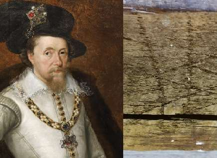 Witchmarks discovered at historic Kent house