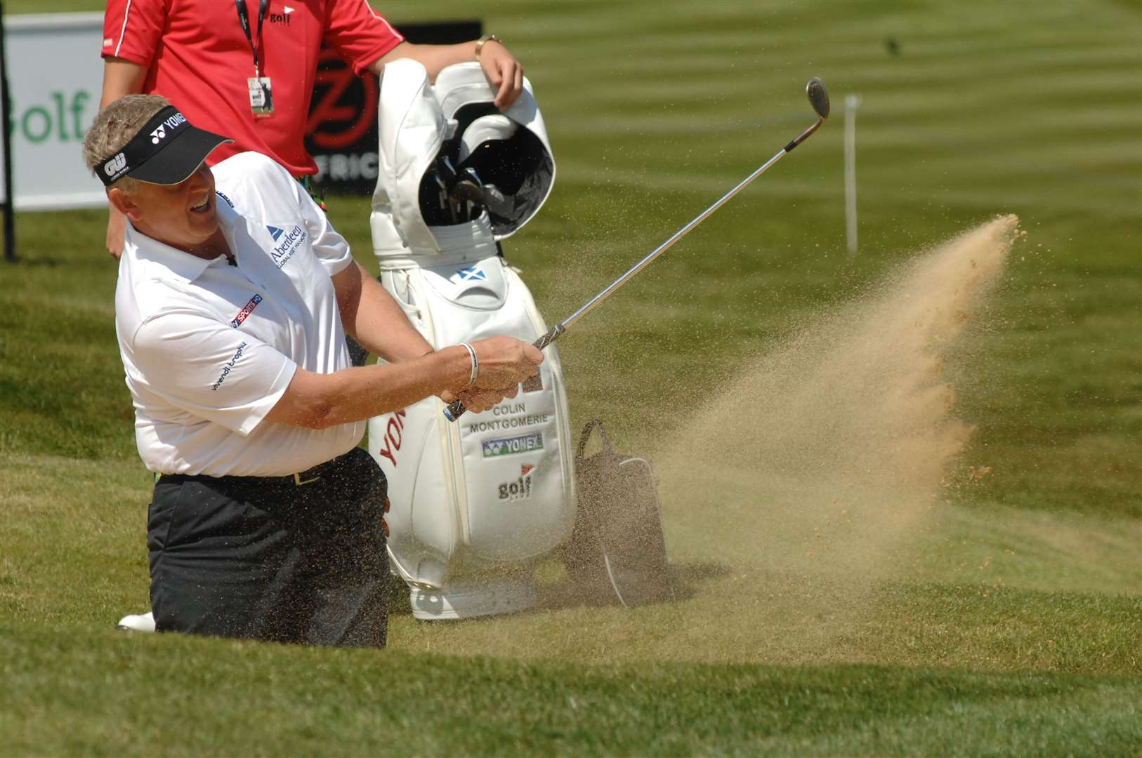 Canterbury Golf Club's Richard Wallis will be up against the likes of Colin Montgomerie at a European Tour pro-am event this week Picture: Nick Johnson