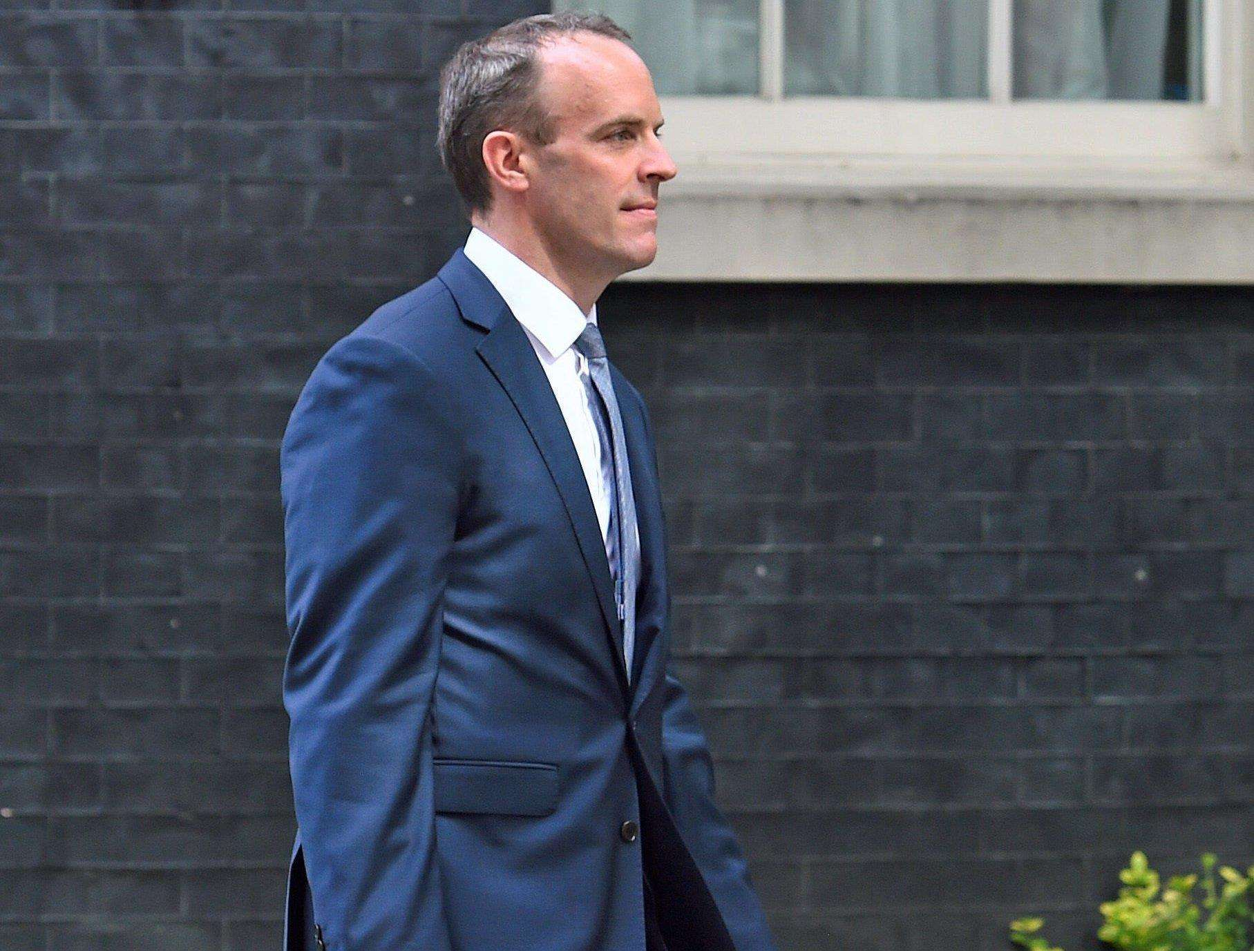 Dominic Raab has resigned as Brexit Secretary