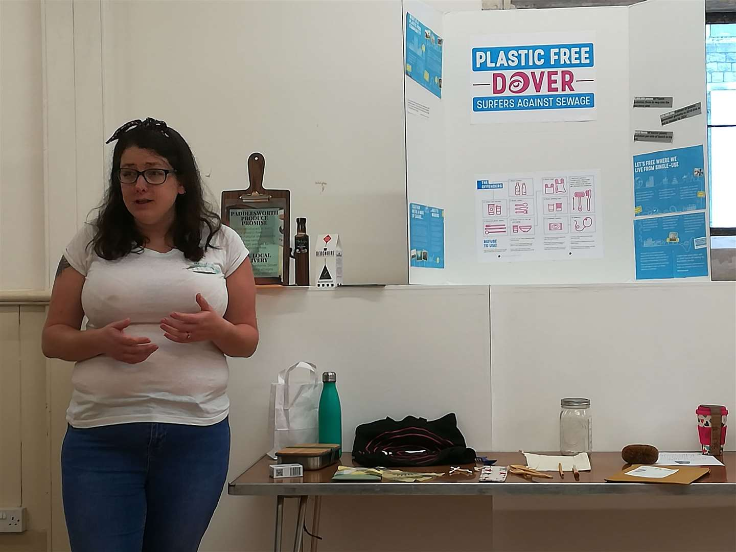Amy Howie talks about the benefits of going plastic free