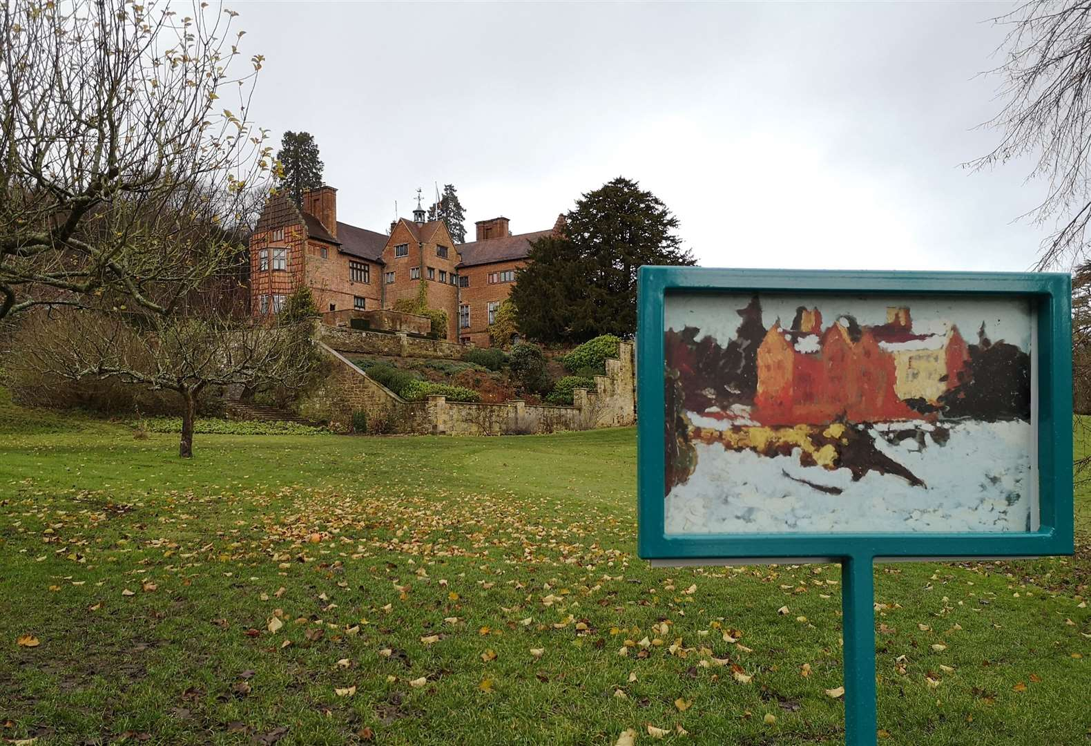 On the art trail at Chartwell near Sevenoaks Picture: National Trust/Henry Jarvis